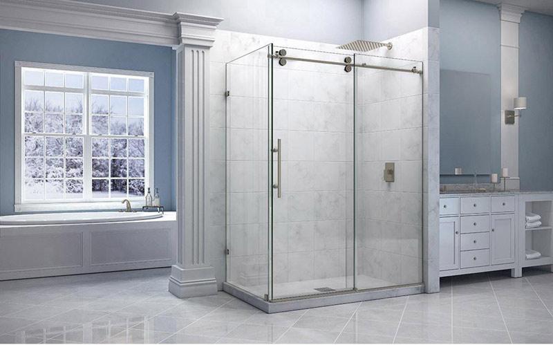 Phòng Tắm Kính Lùa Treo